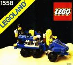 Lego 1558 - Mobile Command Trailer