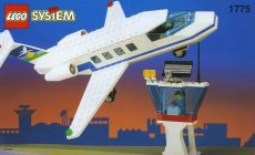 Lego 1775 - Airline Promotional Set: Jet and Tower