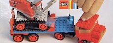 Lego 377-2 - Crane and Float Truck