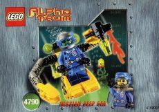Lego 4790 - Alpha Team Robot Diver