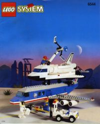 Lego 6544 - Shuttle Transcon 2