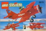 Lego 6615 - Eagle Stunt Flyer
