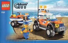 Lego 7737 - Coastguard 4WD & Jet Scooter