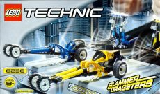 Lego 8238 - Dueling Dragsters