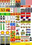 Lego City - Matrica - bolt szolgáltatás benzinkút