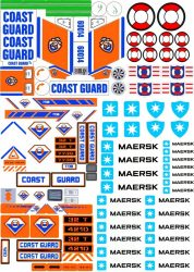Lego City - Matrica - Coast Guard, MAERSK