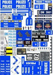 Lego City - Matrica - rendőrség, rendőr