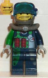 Lego alp016 - Crunch, Mission Deep Sea