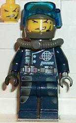 Lego alp017 - Dash, Mission Deep Sea