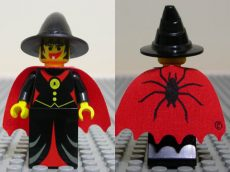 Lego cas032 - Fright Knights - Witch with Cape