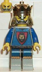 Lego cas035 - Knights' Kingdom I - King Leo