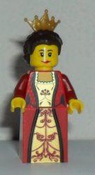 Lego cas504 - Kingdoms - Queen with Dark Brown Hair