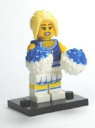 Lego col002 - Cheerleader