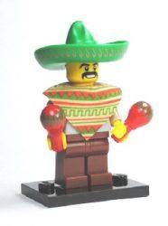 Lego col017 - Mariachi / Maraca Man