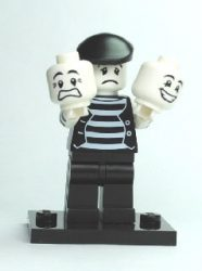 Lego col025 - Mime