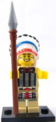 Lego col034 - Tribal Chief