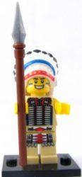 Lego col034 - Tribal Chief