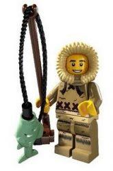 Lego col068 - Ice Fisherman