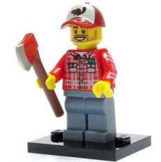 Lego col072 - Lumberjack