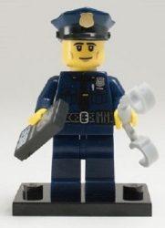 Lego col134 - Policeman