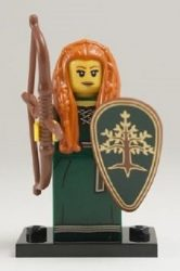 Lego col143 - Forest Maiden