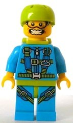 Lego col150 - Skydiver
