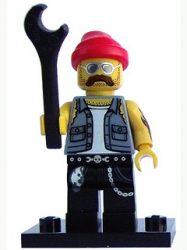Lego col160 - Motorcycle Mechanic