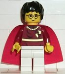 Lego hp019 - Harry Potter, Dark Red Quidditch Uniform