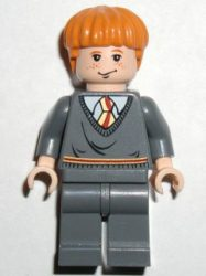 Lego hp055 - Ron Weasley, Gryffindor Stripe Torso