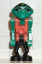 Lego lom001 - LoM Martian - Orange Body, Black Legs