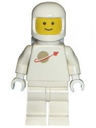 Lego sp006 - Classic Space - White with Airtanks