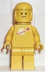 Lego sp007 - Classic Space - Yellow with Airtanks