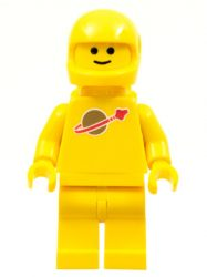Lego sp007new - Classic Space - Yellow with Airtanks and Modern Helmet (Reissue)