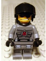 Lego sp095 - Space Police 3 Officer 2 - Airtanks (5970)