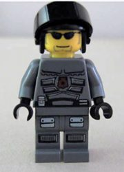 Lego sp109 - Space Police 3 Officer 10 (5979)