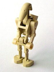 Lego sw001a - Battle Droid with Back Plate