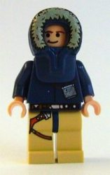 Lego sw253 - Han Solo, Tan Legs, Parka Hood