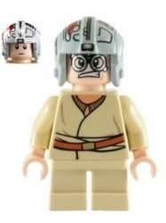 Lego sw327 - Anakin Skywalker (Short Legs - 7962)