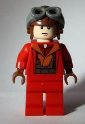 Lego sw340 - Naboo Fighter Pilot - Red Jumpsuit