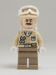 Lego sw425 - Hoth Rebel Trooper, Moustache (9509)