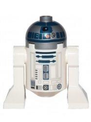 Lego sw527 - R2-D2 (Flat Silver Head, Dark Blue Printing) - 75038